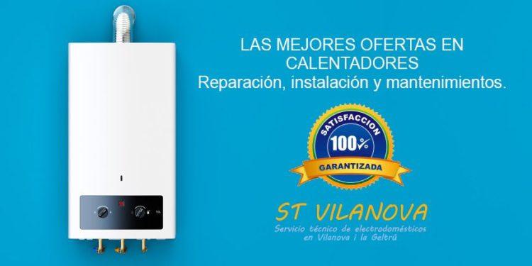 Reparar Calentadores de gas en Sitges Servicio técnico SAT