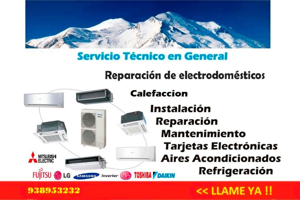 Servicio tecnico aire acondicionado y climatización barato